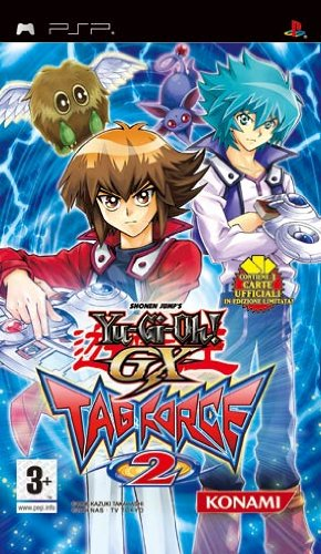 PSP - Yu-Gi-Oh! GX Tag Force 2 - [PAL EU - NO NTSC]