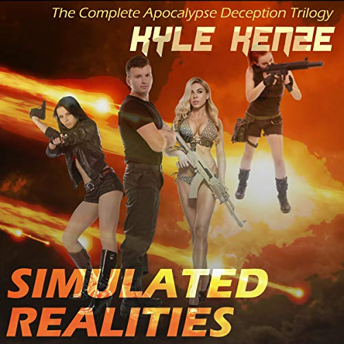Couverture de Simulated Realities: The Complete Apocalypse Deception Trilogy