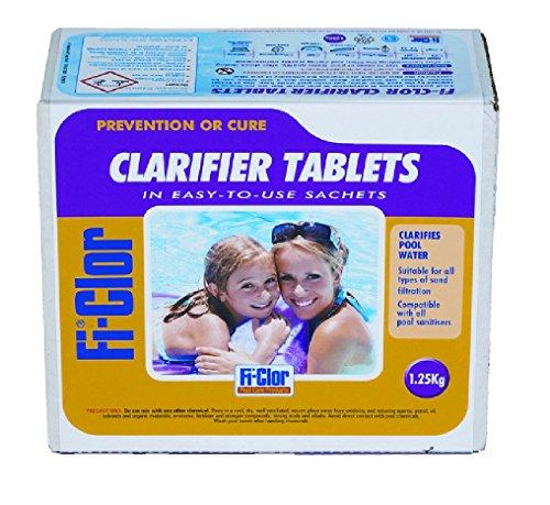 Fi-clor Swimming Pool Clarifier Tablets 1.25kg