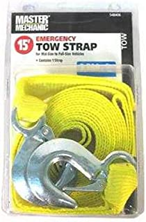 2 x 30 Liftall TS1806TX30 Tuffedge Polyester Web Tow-All 1-ply Vehicle Strap 18 Length 8 Width