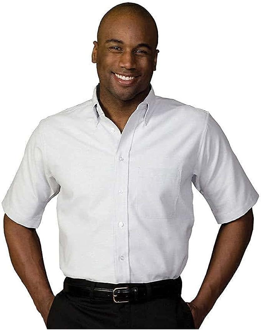 Edwards Men's Short Sleeve Oxford Shirt