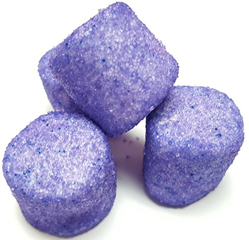 Sugared Marshmallows Purple 1 Pounds 50 Pieces-Purple Candy