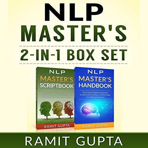 NLP Master's 2-in-1 Box Set audiobook cover art