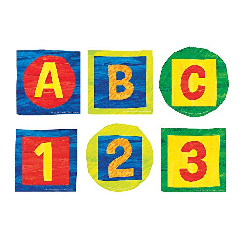 Fun Express - Eric Carle Bulletin Board Letters - Educational - Classroom Decorations - Bulletin Board Decor - 140 Pieces
