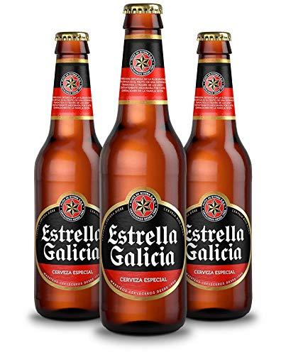 Estrella Galicia Bebida Alcoholica, 12 x 250ml
