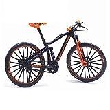 Matedepreso 1:10 Échelle Mini Doigt Vélos De Montagne Alliage Racing Vélo Modèle Cool Jouet Décoration Artisanat pour La Maison