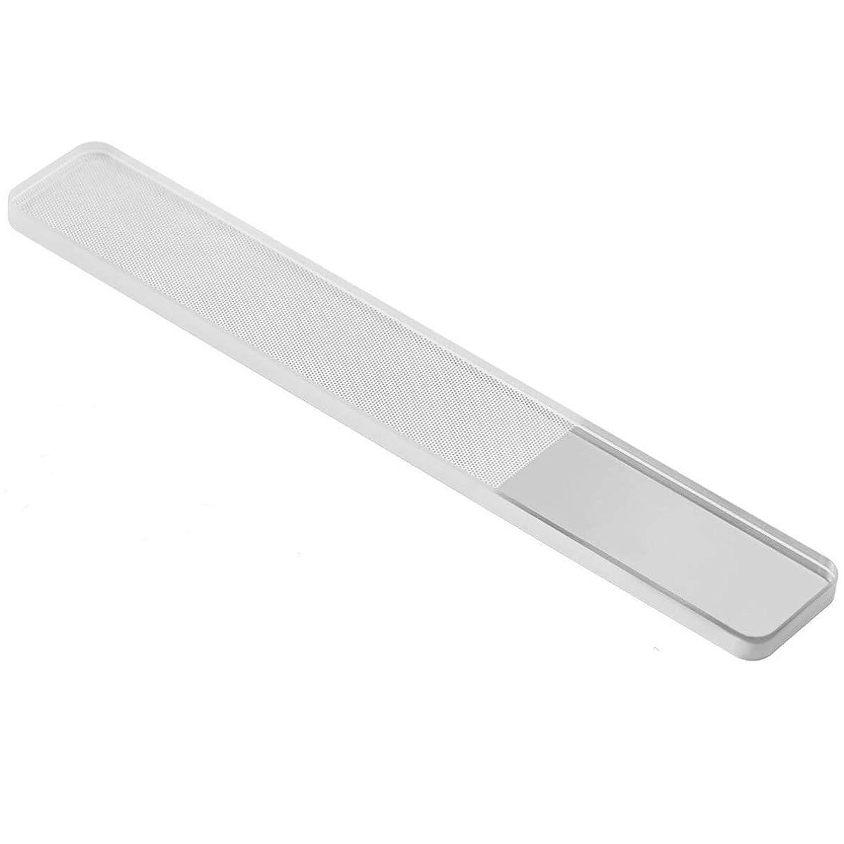反響する作り上げる奨励します爪やすり ガラス 爪磨き ネイルシャイナー ピカピカ ネイルケア