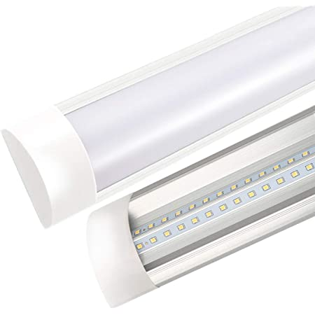 Barra LED Cucina 190-270V Sararoom 60cm Luce Sottopensile lampada Tubo LED Luminosa 2400 Lumen Bianco Freddo 20w