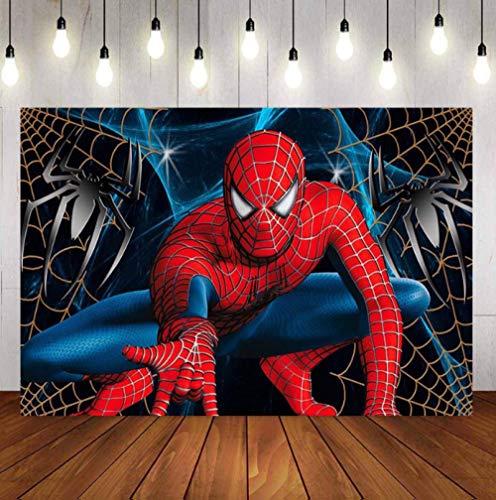 N/ A Tapisserie Murale Spider Man Tapisseries Tenture Murale Pièce De Spectacle pour La Décoration Intérieure Mur Tapis Plage Jeter Tapis Couverture Yoga Tapis