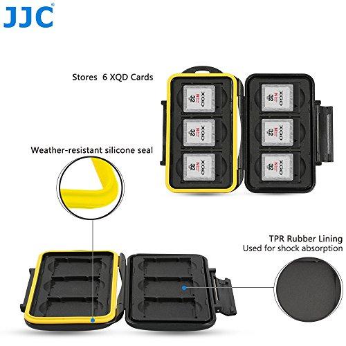 JJC MC-XQD6 Fundas Tarjetas Memoria 6 x XQD Cards