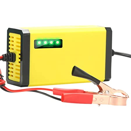 Autobatterie Einheiten Lade 12v Vollautomatische Batterieladegerät Maintainer Für Motorräder Autos Schiffe Power Sports Auto
