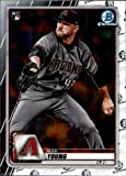 2020 Bowman Chrome #66 Alex Young RC Rookie Card Arizona Diamondbacks Official MLB Baseball Trading Card in Raw (NM or Better) Condition. rookie card picture