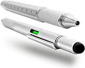 Olixar Multitool Pen with Screwdriver, Spirit Level, Stylus, Ruler and Refillable Ballpoint Pen - Birthday Gifts for Men w...