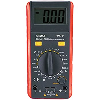 Sigma Instruments - 4070 Digital Lcr Meter, (Battery Operated) - with Calibration Certificate
