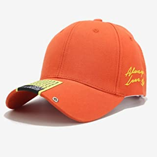 TIMWIL Fashion Hip-hop Baseball Cap Cotton Plain Embroidery Peaked Caps Unisex Summer Outdoor Sports Sun Caps Adjustable for Women Men