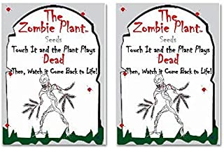 Zombie Plant Seed Packets (2) Grow Your Real Live Zombie Plant. Watch it