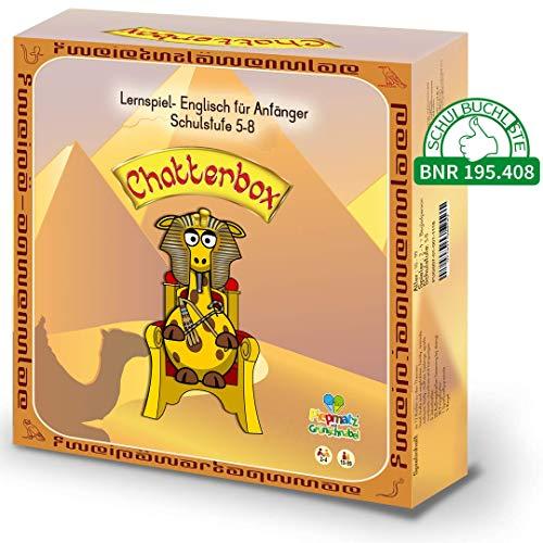 Piepmatz und Grünschnabel Chatterbox - Englisch Lernspiel für Kinder, Schüler, Erwachsene - Englisch für Anfänger - mit Sprechen und Learning by Doing - 5.- 8. Klasse