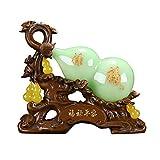 Arte decorativo / figura de adorno Adornos de calabaza retro chinos Lucky Fulu Home Sala de estar Entrada Gabinete de vino Decoración Wu Lou Adornos simboliza la salud y buena suerte Productos de deco