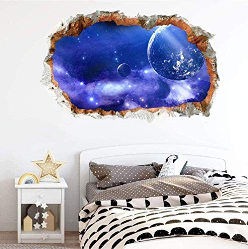 Pegatinas tridimensionales realistas para pared, sofá, pared, decoración de salón, fondo