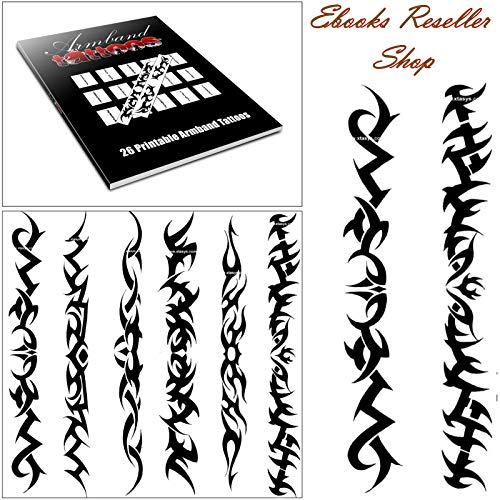 Armband Tattoos - 26 seltene, tolle Tattoo Vorlagen im Tribal Armband Design!