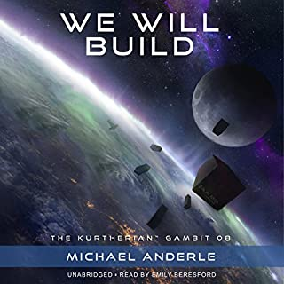 We Will Build audiobook cover art