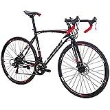 Eurobike Road Bikes 700C Wheels 54cm Frame 21 Speed (30mm)