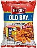 Herr's Old Bay Cheese Curls (9) 7.5 oz. bags per case