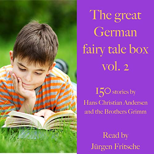 The great German fairy tale box 2 cover art