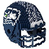 Forever Collectibles PZNF3DHLMSS Seattle Seahawks 3D Brxlz - Helmet