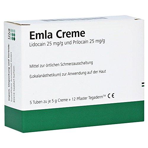 EMLA Creme + 12 Tegaderm Pflaster 5X5 g