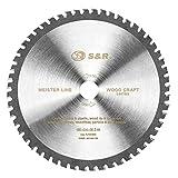 S&R Disque Lame de Scie Circulaire 190 x 30 x 2,4mm, 54 dents Multimatériaux