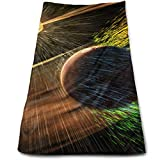 DDHHFJ Solar Flares Microfiber Clean Towels Face Towels Supe