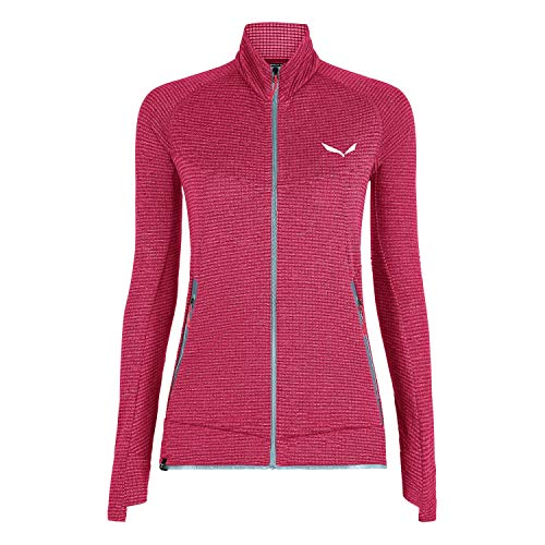 Salewa 00-0000027720_6385 Polaire Femme, Virtual Pink Melange, FR : S (Taille Fabricant : 42/36)