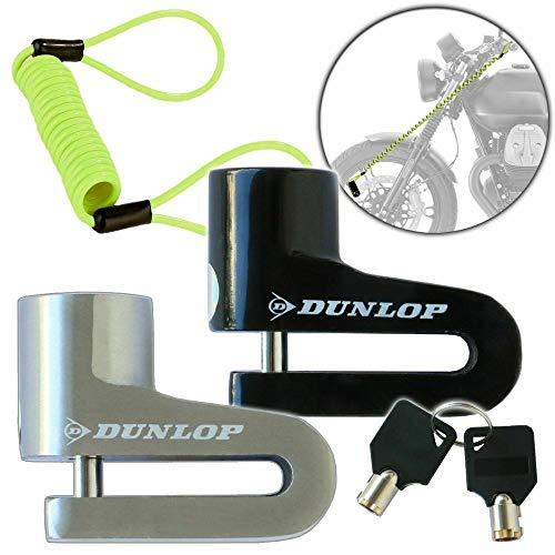 Candado para disco de freno de motocicleta, 4 mm de diámetro, con cable de memoria de 1,5 m, para moto y bicicleta