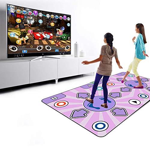 GOLUT HDMI Double Wireless Game Dance Mat for Kids and Adults, Motion-Sensing Controller,3D Scene Mode, MTV&Cartoon Mode