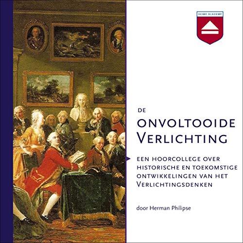 De onvoltooide Verlichting audiobook cover art