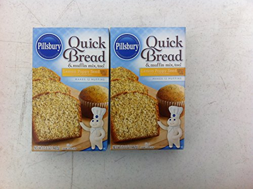Pillsbury Quick Bread Lemon Poppy Seed