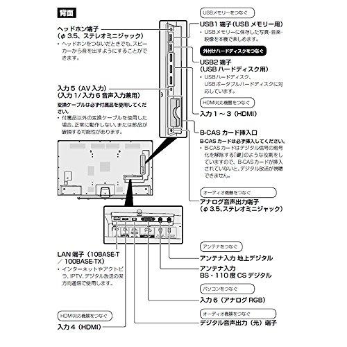 シャープ40V型液晶テレビAQUOSLC-40U454KHDR対応低反射パネル搭載