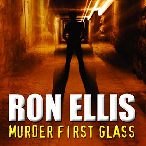 Murder First Glass audiobook cover art