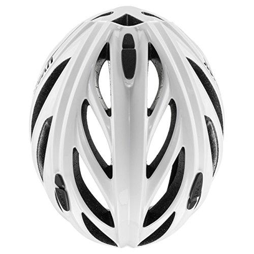 Fahrradhelm UVEX Helm Boss Race, White, 52-56 cm - 5