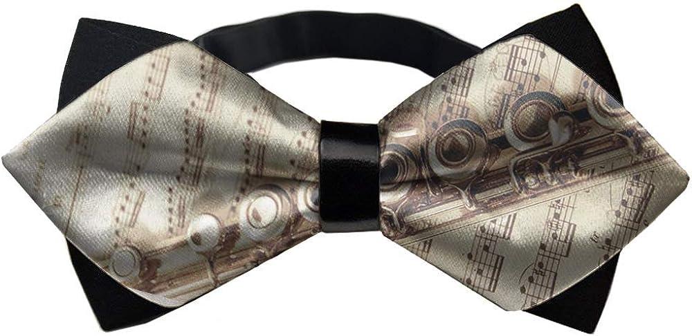 Pre-Tied Mens Boys Formal Bowties, Adjustable Premium Cravat - Bow Tie Gift