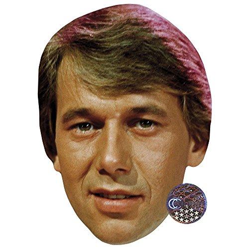 Celebrity Cutouts Roland Kaiser (Young) Maske aus Karton