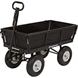 Strongway Dump Cart - 1,200-Lb. Capacity, 5 Cu. Ft.