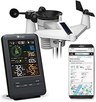 Logia 5-in-1 Wi-Fi Weather Station with Solar Remote Monitoring System