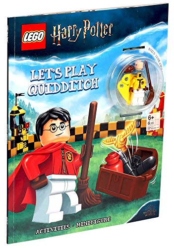 Let's Play Quidditch! (Activity Book With Minifigure)