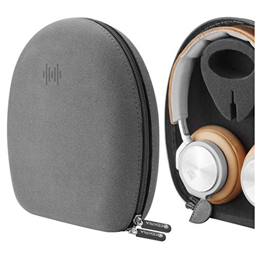 Geekria UltraShell Case for Bang & Olufsen B&O BeoPlay H95, H9, H9i, H8, H8i, H7, H6, H2 Headphones, Replacement Protective Hard Shell Travel Carrying Bag with Room for Accessories