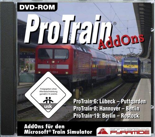 Train Simulator - ProTrain Add-ons für den Microsoft Train Simulator [Software Pyramide]