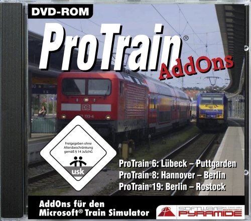 Train Simulator - ProTrain Add-ons für den Microsoft Train Simulator [Software Pyramide]