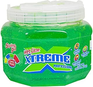 Wet Line Xtreme Green Styling Gel, 35.26 Ounce by Wetline