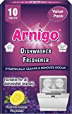 Arnigo Dishwasher Cleaner and Freshener removes germs, odour causing bacteria and build-up from hidden parts of the dishwasher. Delivers a fresh and hygienically clean boost to your appliance. Arnigo Cleaner and Freshener not only removes hidden grea...
